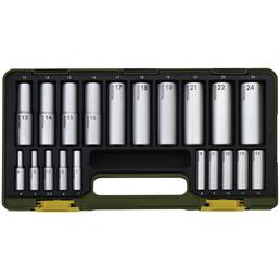 PROXXON Steckschlüsselsatz »Industrial« 20-teilig, Schlüsselgröße: 6,3 und 12,5 mm mm