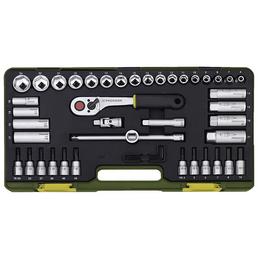 PROXXON Steckschlüsselsatz »Industrial« 42-teilig, Schlüsselgröße: 6,3 und 12,5 mm  mm