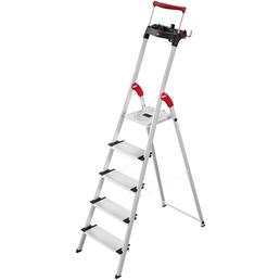 HAILO Stehleiter »L95 HB«, 5 Stufen, Aluminium/Stahl/Kunststoff