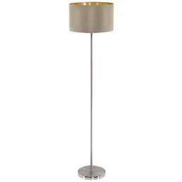 EGLO Stehleuchte »MASERLO«, H: 151 cm, Gold/Taupe