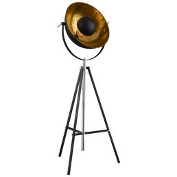 GLOBO LIGHTING Stehleuchte »XIRENA« schwarz mit 60 W, H: 180 cm, E27 ohne Leuchtmittel