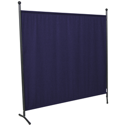 Stellwand, B x T: 178 cm, Blau