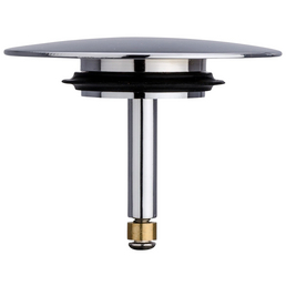 WENKO Stöpsel »Pluggy Xxl «, Höhe: 6 cm, chromfarben