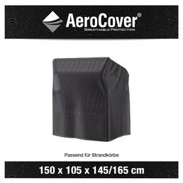 AeroCover Strandkorbhülle, 150 x 105 x 165/145  cm