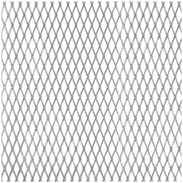 GAH ALBERTS Streckmetallblech, BxL: 250 x 500 mm, Aluminium