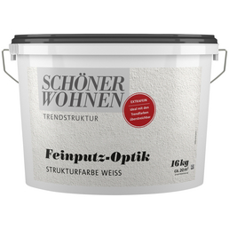 SCHÖNER WOHNEN FARBE Strukturfarbe »Trendstruktur«, in Putz-Optik, weiß