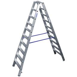 KRAUSE Stufen-Doppelleiter »STABILO«, Anzahl Sprossen 20