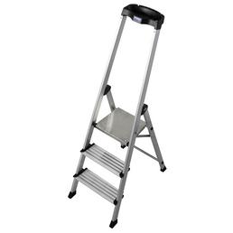 KRAUSE Stufen-Stehleiter »MONTO«, Anzahl Sprossen 3
