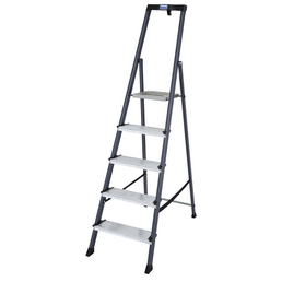 KRAUSE Stufen-Stehleiter »MONTO«, Anzahl Sprossen 5