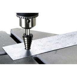 WOLFCRAFT Stufenbohrer, Rundschaft, Ø 8 – 35 mm