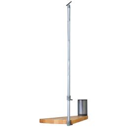 DOLLE Stufenelement »Oslo«, Buche, Grau, bis 276 cm Raumhöhe