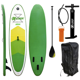 EXPLORER SUP-Board »Raider«, L x B x H: 300  x 75  x 10  cm, Nutzlast: 95  kg