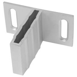MR. GARDENER T-Beschlagset, Aluminium, 8 Halter, hellgrau