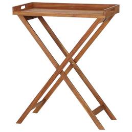 SIENA GARDEN Tablett »Minera«, Holz, natur, BxHxT: 80 x 99,5 x 45 cm