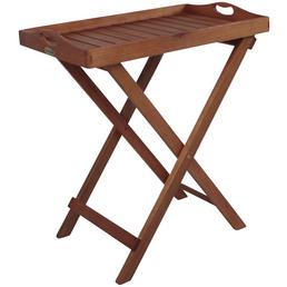 GARDEN PLEASURE Tablettständer »Dallas«, BxHxT: 68 x 74 x 44 cm, Eukalyptusholz