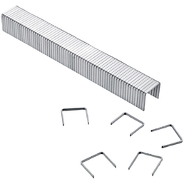 CONNEX Tackerklammern, 10 mm, 57, 1000x Stahlklammern Typ 57