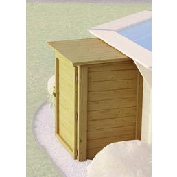 KARIBU Technikbox, BxHxT: 87 x 74 x 121 cm, Holz, geeignet für: Pool