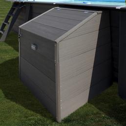 GRE Technikbox »Composite Pools«, BxHxT: 80 x 115 x 80 cm, Kunststoff, geeignet für: Composite Pools