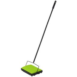 WENKO Teppichkehrer, BxL: 28 x 19 cm, grün