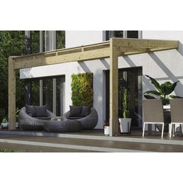 Terrassendach, (B x T x H): 450 x 359 x 287 cm