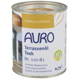 AURO Terrassenöl »Classic«, teak, 0,75 l