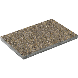 Terrassenplatte »Waschbeton«, aus Beton, Kanten: scharfkantig