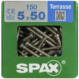 SPAX Terrassenschraube, T-STAR plus, 150 Stk., 5 x 50 mm