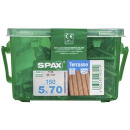 SPAX Terrassenschraube, T-STAR plus, 150 Stk., 5 x 70 mm
