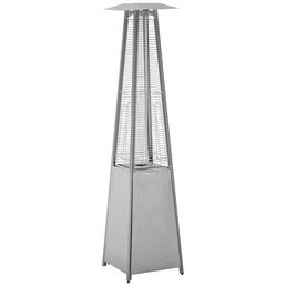 ACTIVA Terrassenstrahler »Cheops«, Edelstahl/Glas, Höhe: 223 cm, 10500 W