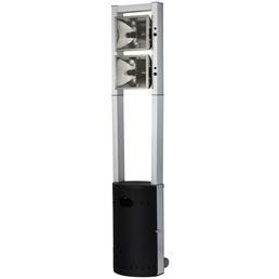 ENDERS Terrassenstrahler »Ecoline Pure«, Stahl/Aluminium, Höhe: 213 cm, 4400 W