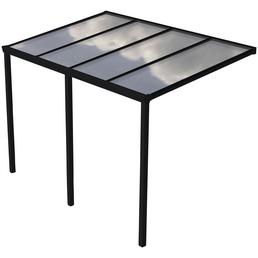 Terrassenüberdachung »Easy Edition«, Breite: 400 cm, Dach: Polycarbonat (PC), anthrazit