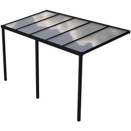 Terrassenüberdachung »Easy Edition«, Breite: 500 cm, Dach: Polycarbonat (PC), anthrazit