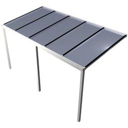 GARDENDREAMS Terrassenüberdachung »Easy Edition«, Breite: 500 cm, Dach: Polycarbonat (PC), weiß