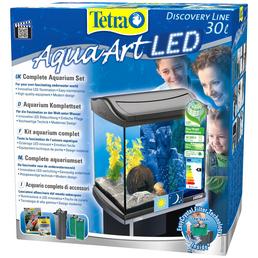 TETRA Tetra AquaArt LED Aquarium Komplett-Set Anthrazit 30L