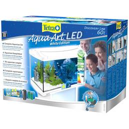 TETRA Tetra AquaArt LED Aquarium Komplett-Set Weiß 60L