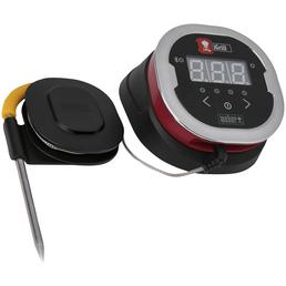 WEBER Thermometer, Edelstahl/Kunststoff, für Fleisch, Fisch, inkl. 2 Temperaturfühler