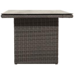 ploß® Tisch »Jardel« mit Glas-Tischplatte, BxTxH: 140 x 85 x 68 cm