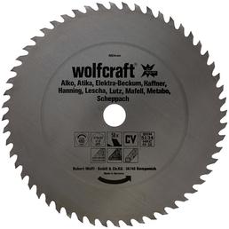 WOLFCRAFT Tisch-Kreissägeblätter, Ø 315 mm, 56 Zähne
