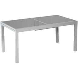 MERXX Tisch, mit Sicherheitsglas-Tischplatte, BxHxT: 120 x 75 x 90 cm