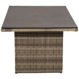 ploß® Tisch »Sydney«, mit Glas-Tischplatte, BxTxH: 140 x 85 x 68 cm