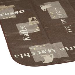 d-c-table® Tischdecke »Manhattan«, BxL: 110 x 140 cm, Schriftzug/Essen und Trinken, braun