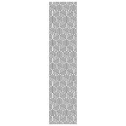 mySPOTTI Tischläufer »Tischläufer Abey«, BxL: 40 x 180 cm, schwarz/weiß