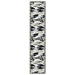 mySPOTTI Tischläufer »Tischläufer Maceo«, BxL: 40 x 180 cm, schwarz/weiß