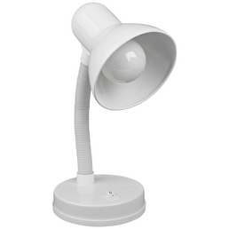 EGLO Tischleuchte »BASIC« Weiß mit 40 W, H: 30 cm, E27 ohne Leuchtmittel