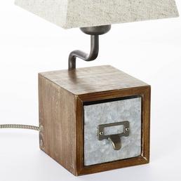 BRILLIANT Tischleuchte »CASKET« mit 25 W, H: 34 cm, E27 ohne Leuchtmittel
