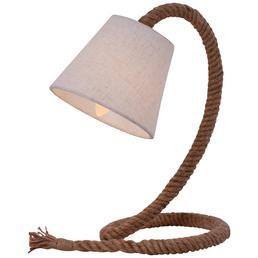 NÄVE Tischleuchte »Rope« natur mit 40 W, H: 38 cm, E14 ohne Leuchtmittel