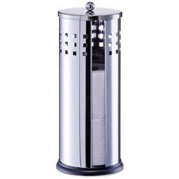 ZELLER Toilettenpapierhalter »3 Rollen«, silberfarben