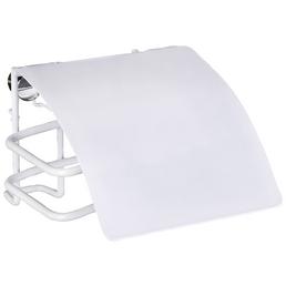 WENKO Toilettenpapierhalter »Classic Plus «, Höhe: 9 cm, weiß