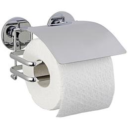 Toilettenpapierhalter, Höhe: 8,5 cm, edelstahlfarben