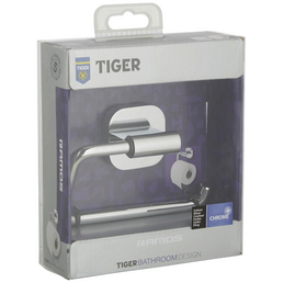 TIGER Toilettenpapierhalter »RAMOS«, chromfarben